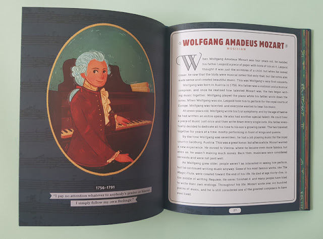 The story of Mozart n the Never too Young! children's book