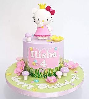 Gambar Kue Hello Kitty yang Lucu 9