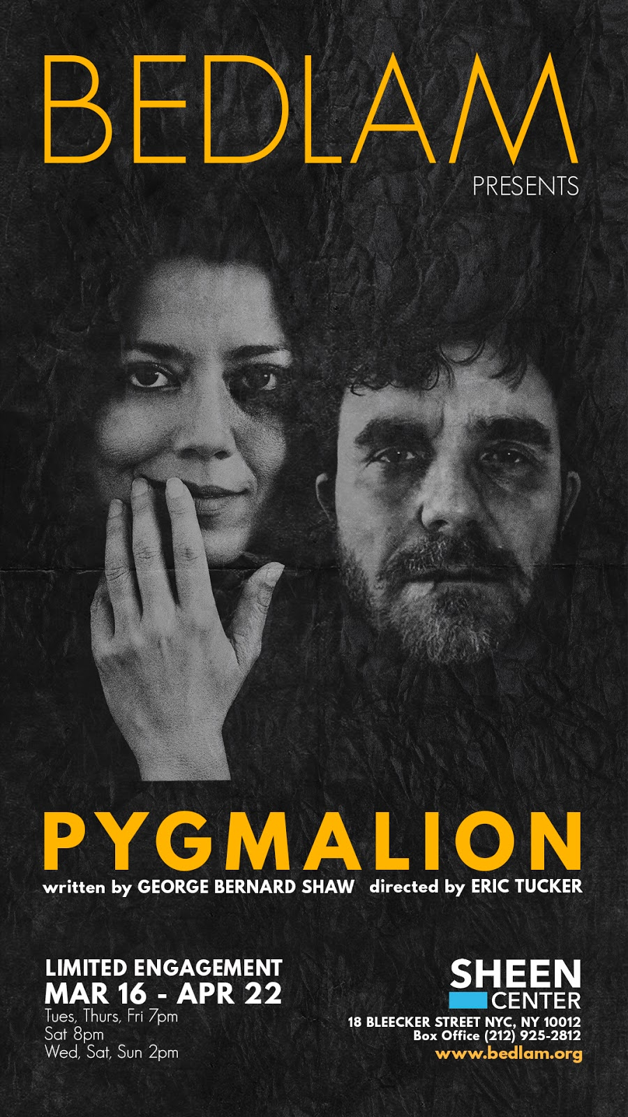THEATRE'S LEITER SIDE: 200 (2017-2018): Review: PYGMALION (seen