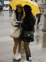 Chinese rain in Trafalgar Square, malooka