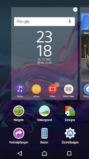 تحميل واجهة اجهزة سوني Xperia™ Home احدث اصدار