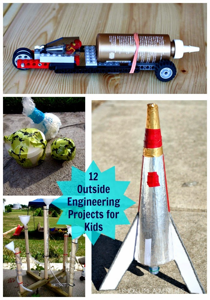 Outside Engineering Projects for Kids