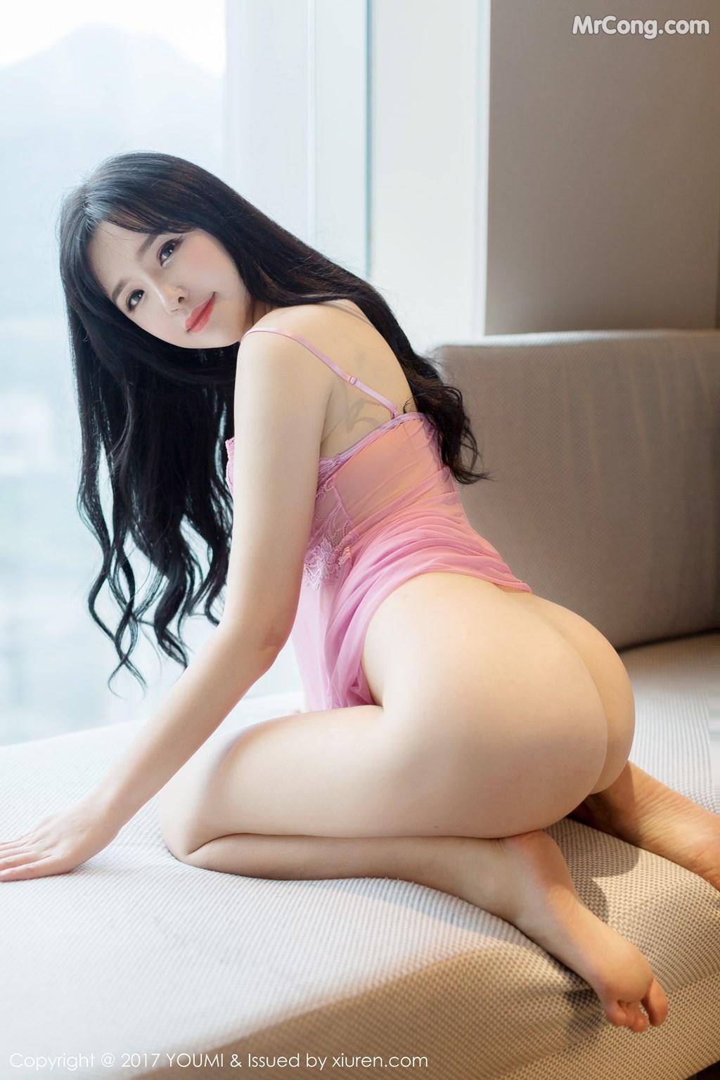 Image YouMi-No.067-Liu-Yu-Er-MrCong.com-004 in post YouMi No.067: Người mẫu Liu Yu Er (刘钰儿) (45 ảnh)