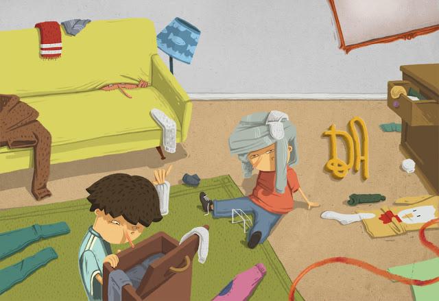 """Ilustração de Gonzalo Firpo para o livro """"Os Seres Trock"""""""