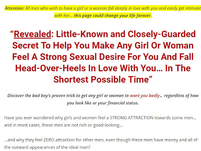 Sexual Attraction: Make Any Girl Feel A Strong Sexual Desire For You