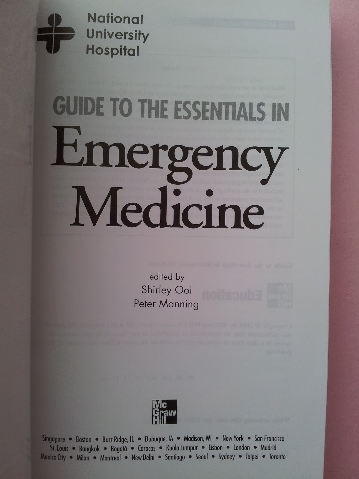 Shirley Ooi Emergency Medicine Pdf