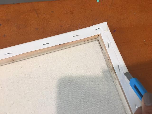 Reverse canvas, reverse canvas sign, HTV, reverse canvas tutorial, heat transfer vinyl
