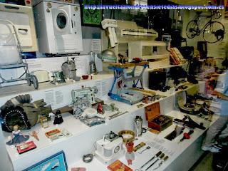 Objetos de la vida cotidiana, en el Science Museum