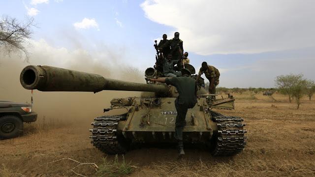 إشتباكات بين الجيش السودانى ومسلحين فى دارفور