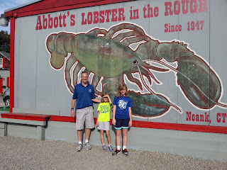 Abbott's Lobster in the Rough, Noank, CT