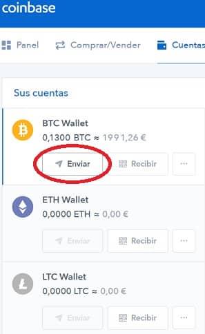 enviar bitcoin wallet raiblock coinbase