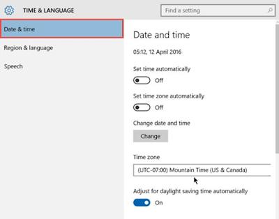 كيفية إصلاح مشكلة توقف متجر ويندوز 10 عن العمل Windows 10 Store