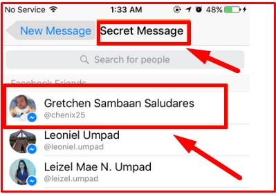 how to see hidden messages on facebook messenger