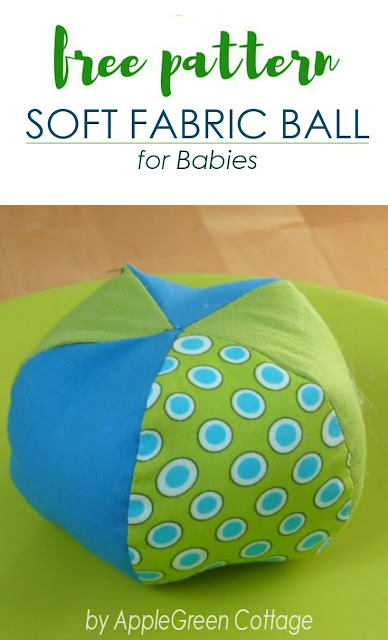 How to Sew a Soft Ball - AppleGreen Cottage