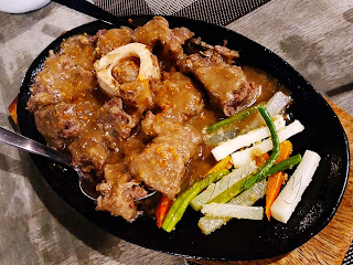Sizzling Cansi with Vegetables
