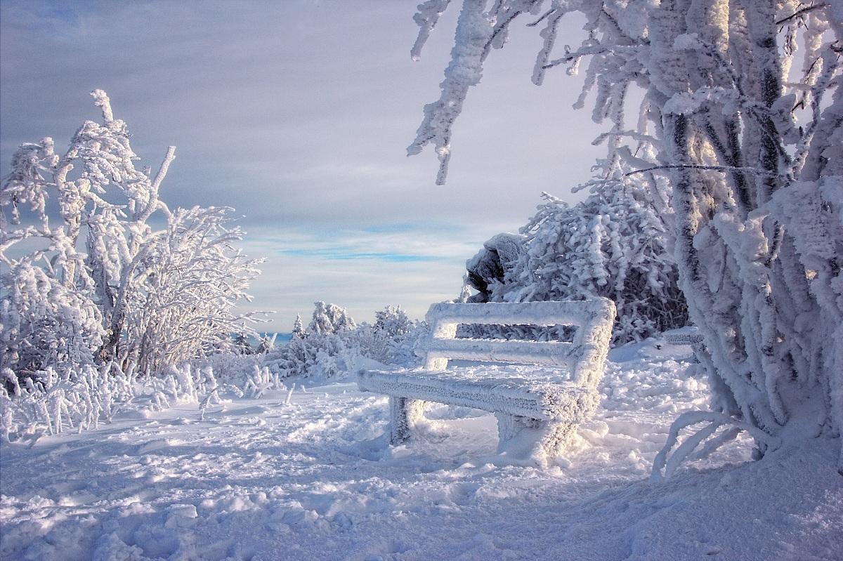 Taunus Feldberg Schnee