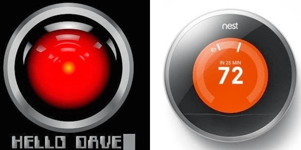 Seriously, Though, Why Does Nest Look Like Hal? | Geek5auce