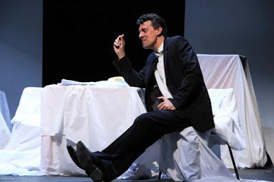 Damian Thantrey in Thomas Hyde's That Man Stephen Ward with Nova Music Opera at the Presteigne Festival, 2015 (Photo Hannah Lane)