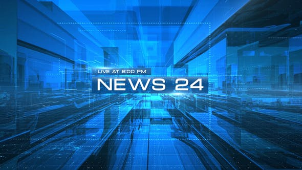 News 24 Opener   After Effects Project Files   Videohive 23570322