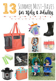 13 Summer Must-Haves for Kids & Adults...this list have something for everyone this summer!  Beach items, clothes, kitchen appliances, gadgets and more. (sweetandsavoryfood.com)