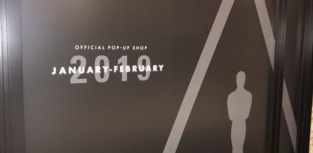 Oscars Pop-Up Shop storefront 2019