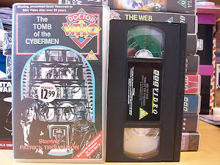 Doctor Who VHS Tape