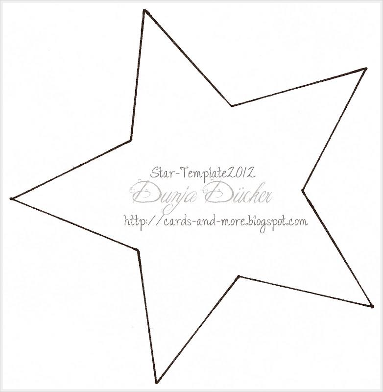 Stern Template ☆ Stern-Hängerchen ☆ - Dunja Trautmann | mit Liebe ...