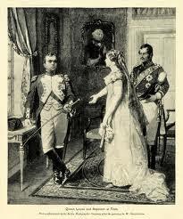 Luisa di Prussia e Napoleone
