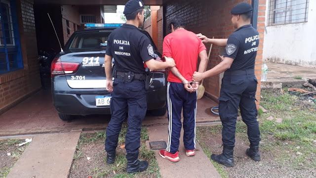 """POSADAS : Detuvieron a """"Kiki Naka"""" por un hecho de robo a una jovencita en una parada de colectivos"""