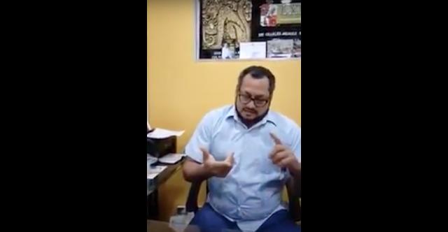 """Diputado del PRD es exhibido pagando """"chayote"""" a reporteros (VIDEO)"""