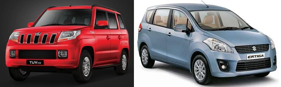 Vitara Brezza vs Ertiga Comparison