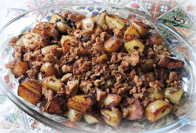 Bread Crumb Fried Potatoes