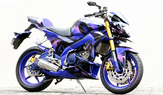 Modification Yamaha Vixion Street Fighter