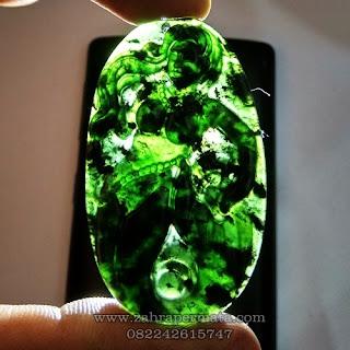 Liontine Black Jade Giok Hitam + Memo - ZP 1140