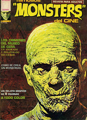 Famosos Monsters del Cine 3 - Portada