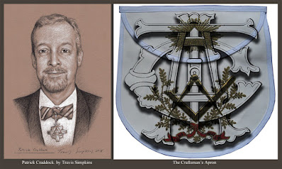 Patrick Craddock. Masonic Regalia Artisan. The Craftsman's Apron. by Travis Simpkins