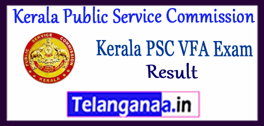 Kerala PSC Kerala Public Service Commission Village Field Assistant Result 2017