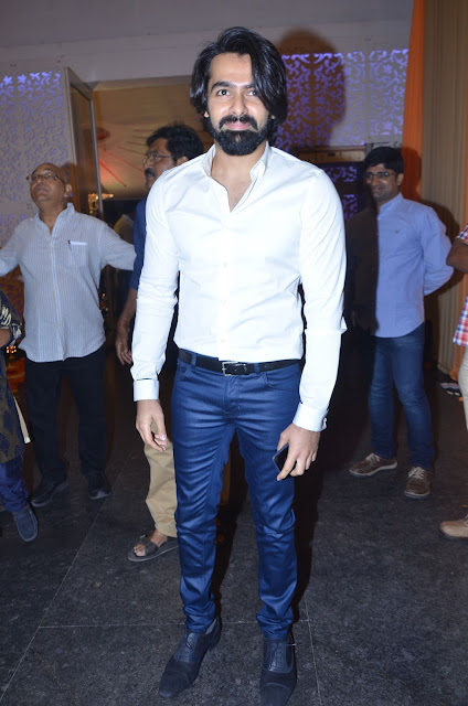 ram pothineni at shyam prasad reddy daughter wedding