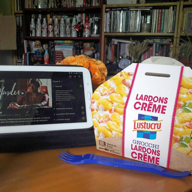 Lunchbox Lustucru gnocchi plats préparés food yummy