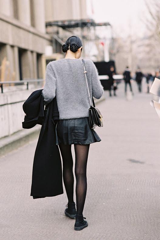 street style zima, modnie zimą, skórzane kurtki, moda dodatki, w jej stylu, kobiety,