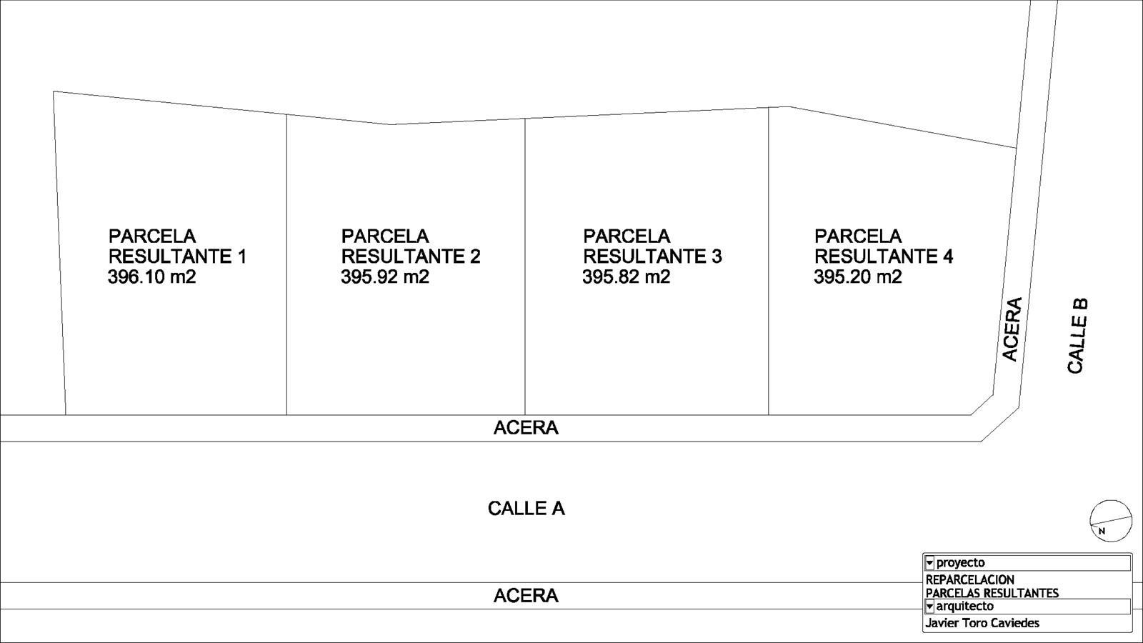 proyecto reparcelacion arquitecto valladolid