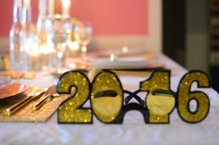 A Sneak Peek at Our New Year's Eve Table: Happy New Year