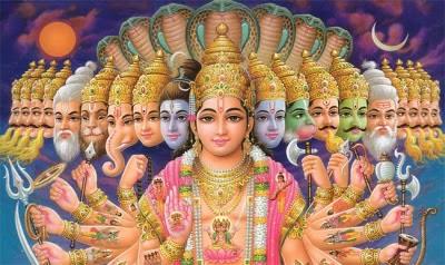 Hinduismen: Gudsbegrep i Hinduismen