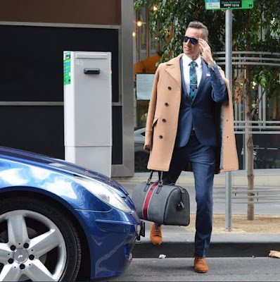 WINTER FASHION ON THE STREETS OF AUSTRALIA TED BAKER