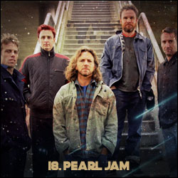 The 24 Greatest Bands In The World Right Now: 18. Pearl Jam