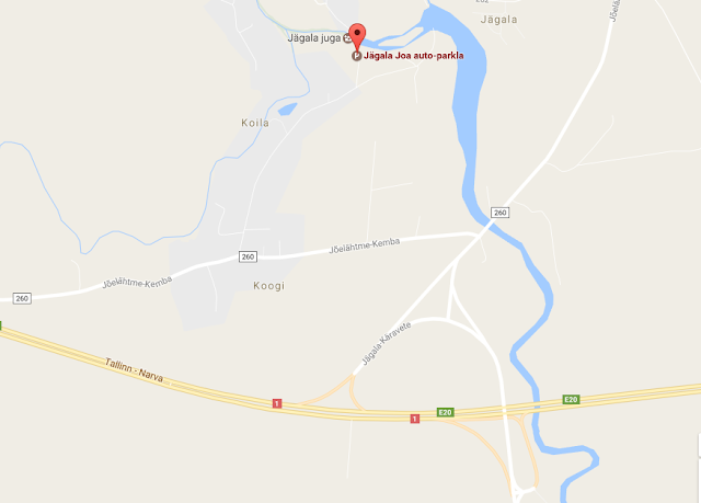 Jägalan vesiputous, Viro