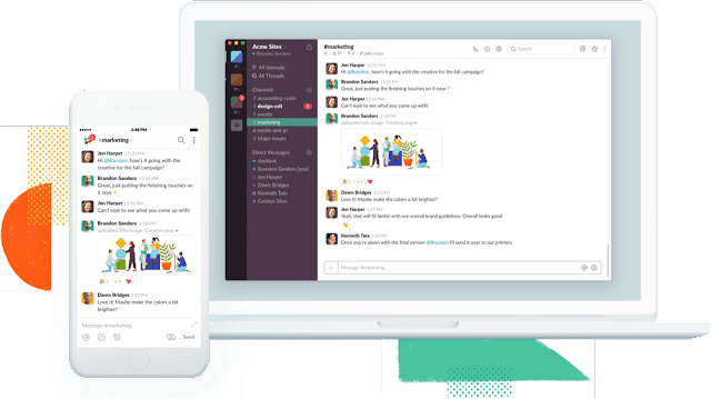 Slack team management tool