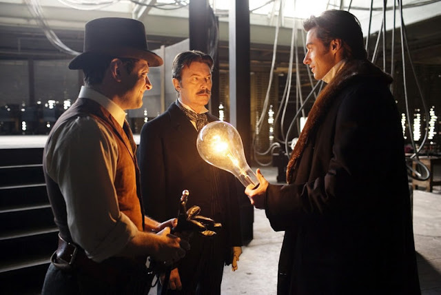 David Bowie as Nicola Tesla, the prestige, christopher nolan