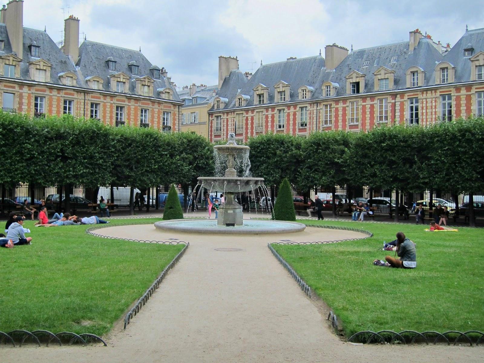 Place des Vosges i Paris