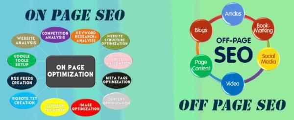 Seo On Page Dan Seo Off Page
